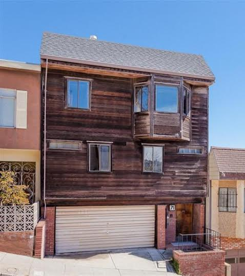 SOLD – 71 Rosenkranz St., San Francisco CA 94110