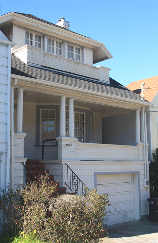 SOLD – 2023 18th Ave., San Francisco CA 94116