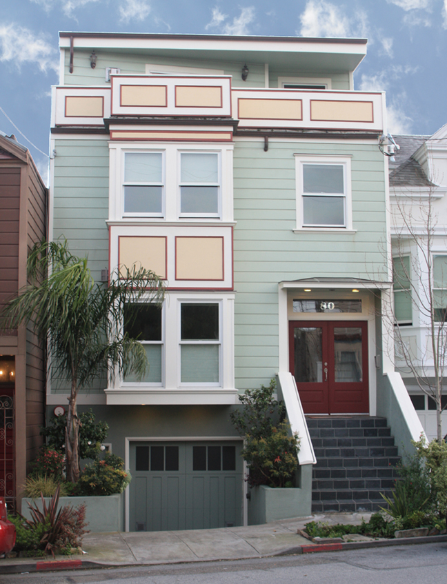SOLD – 80A Richland Ave., San Francisco CA 94110