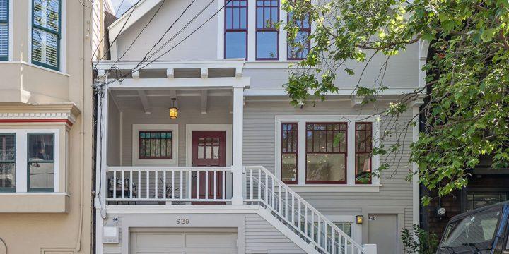 SOLD – 629 Alvarado Street, San Francisco CA 94114