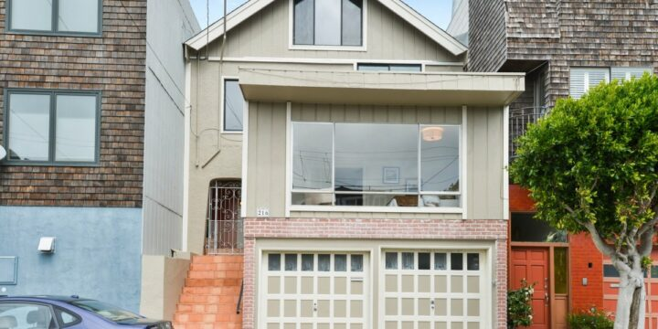 Just Listed – 216 Sussex Street San Francisco, CA 94131