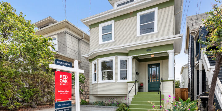 SOLD – 541 66th St, Oakland, CA  94609